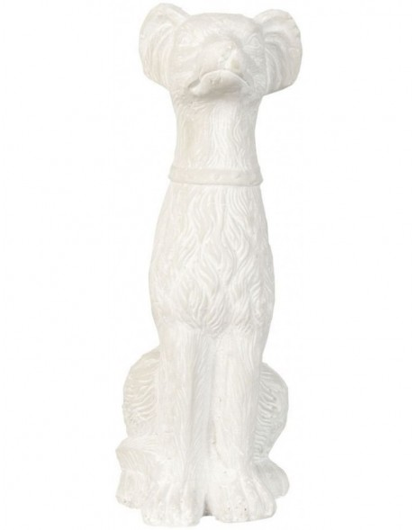 stone-decoration DOG - 6TE0053 Clayre Eef