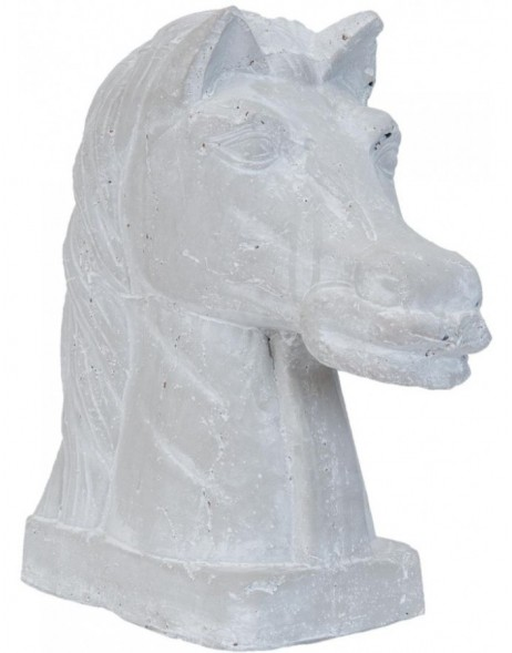 stone-decoration HORSE - 6TE0083 Clayre Eef