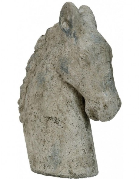 stone-decoration HORSE - 6TE0084 Clayre Eef
