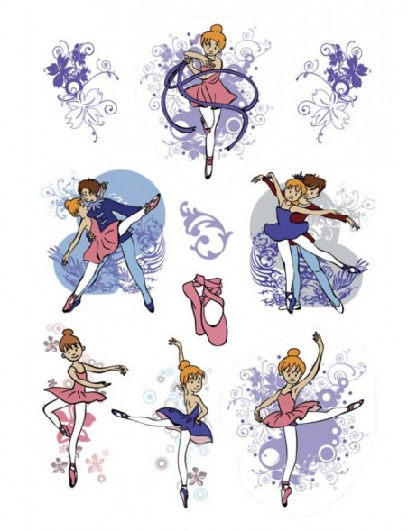 decorative labels DECOR Prima Ballerina 3 sheets