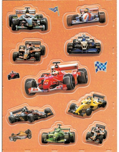 Stickers - Formula 1 cars
