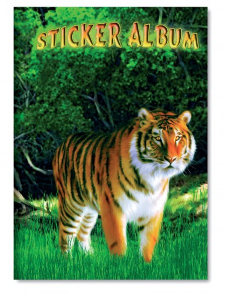 sticker album Tiger A5 vertical format