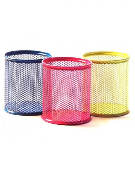 pencil cup by officional pink