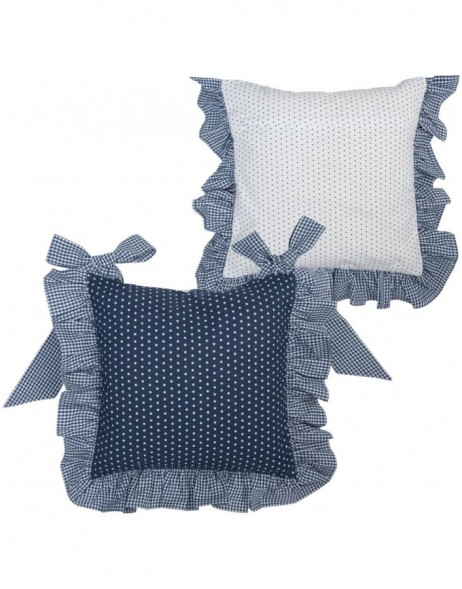chair cushion (without filling) blue 40x40 cm - Twinkle Little Star