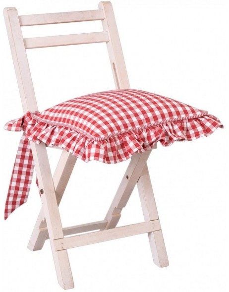 Chair Cushion Cover Alpine 40x40 cm red