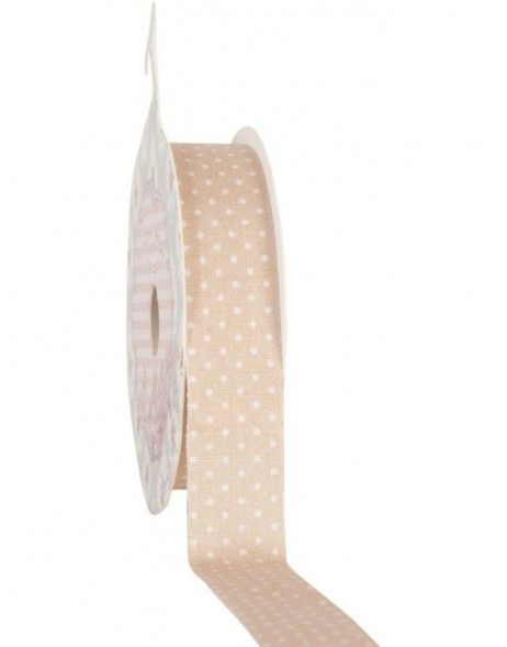 decoration tape 15mm x 500 cm - dark beige