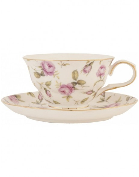TEA ROSE Tasse 0,2 L - TRKS Clayre Eef