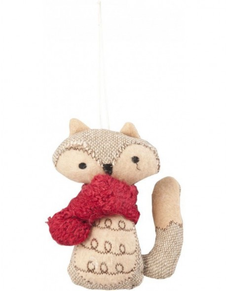 TW0302 Clayre Eef - FOX plush decoration