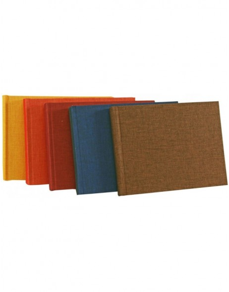Linen Photo Album Summertime 6 sizes up to 35 x 36 cm - 36 to 100 white sides