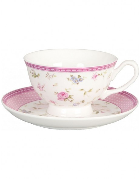 cup and saucer ELEGANT ROSE