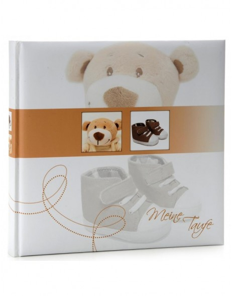 Baptism photo album Trend bear
