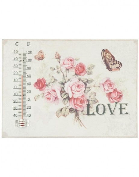 Thermometer 26x19 cm Clayre Eef