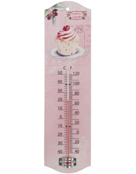 Thermometer 7x27 cm Muffin