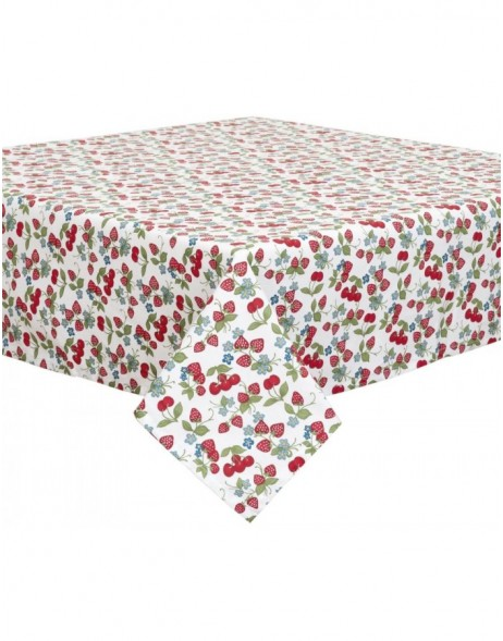 Strawberries and Cherries - table cloth 130x180 cm