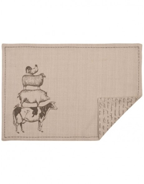 Tischset 6 St�ck A day at the Farm 48x33 cm