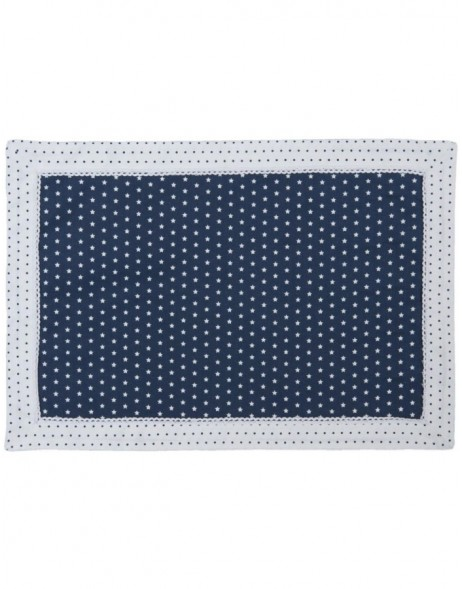 place mats - 6 pieces blue 48x33 cm - Twinkle Little Star