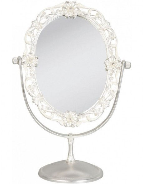 table mirror 62S029 Clayre Eef 18x10x26 cm