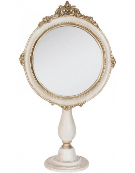 table mirror 62S070 Clayre Eef 19x9x33 cm