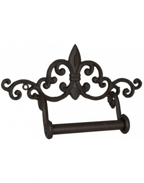ORNAMENT toilet roll holder brown - 6Y1531 Clayre Eef