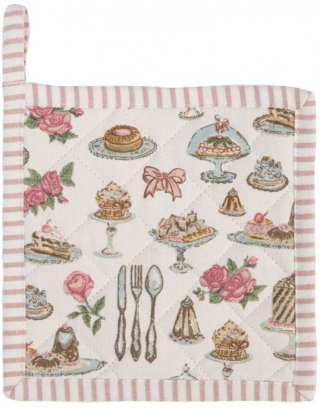 Topflappen 16x16 cm Cakes and Pastries