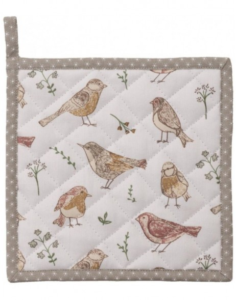 Topflappen 20x20 cm Singing Birds