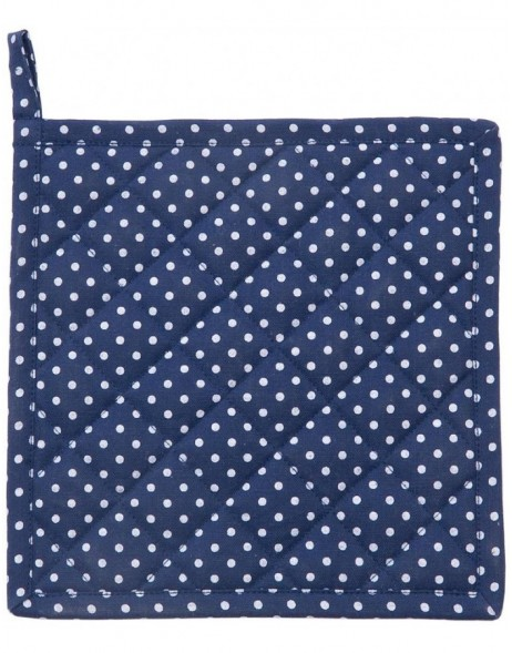 Topflappen JUST DOTS blau