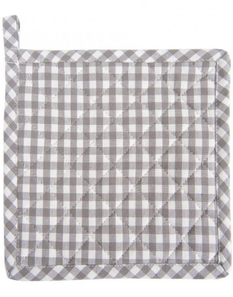 Potholder gray 20x20 Just check