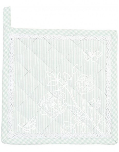 Potholders light green ROMANCE