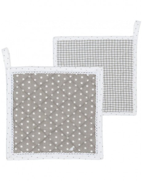 pot cloth natural  - Twinkle Little Star