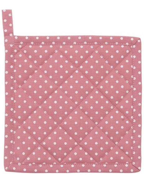 Topflappen rosa Just Dots