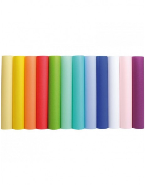 transparent paper - colour assorted 1 pack