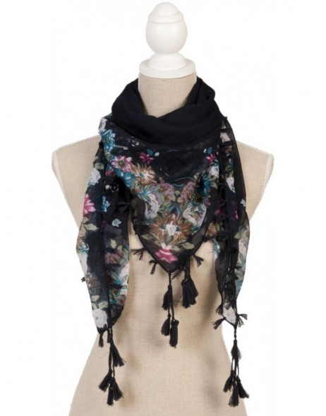 100x100 cm synthetic scarf SJ0494 Clayre Eef