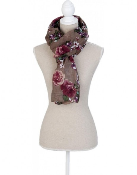 scarf SJ0550BGR Clayre Eef in the size 90x180 cm