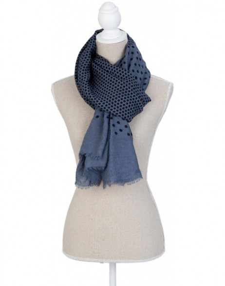 90x180 cm synthetic scarf SJ0565BL Clayre Eef