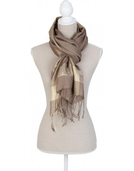 70x180 cm synthetic scarf SJ0575BGR Clayre Eef