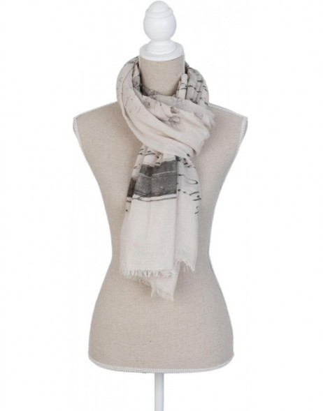 180x90 cm synthetic scarf SJ0652N Clayre Eef