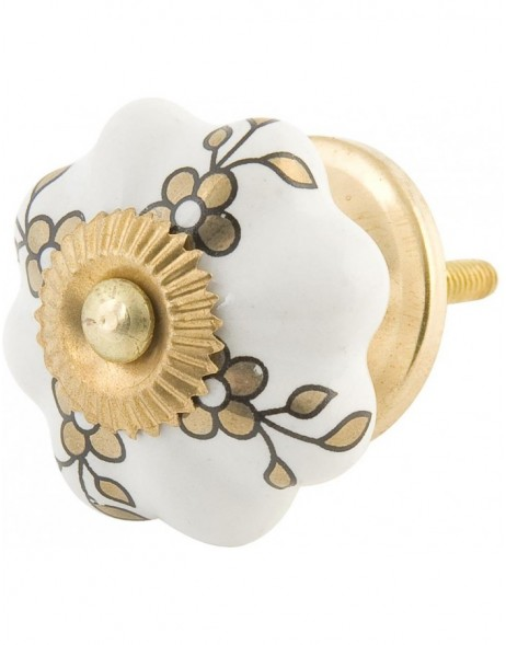 Doorknob Ø 4 cm Golden color GO