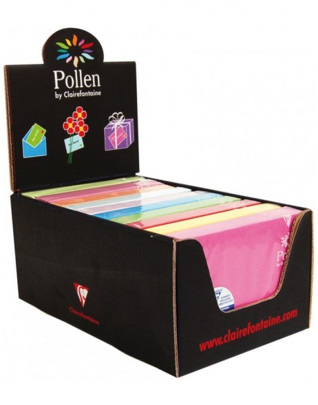 envelopes different colours and sizes - Pollen