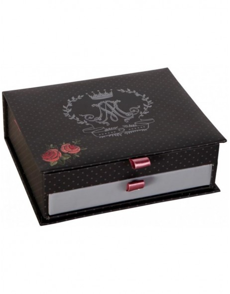 VIVE MARIA jewel case black 20x16x6 cm