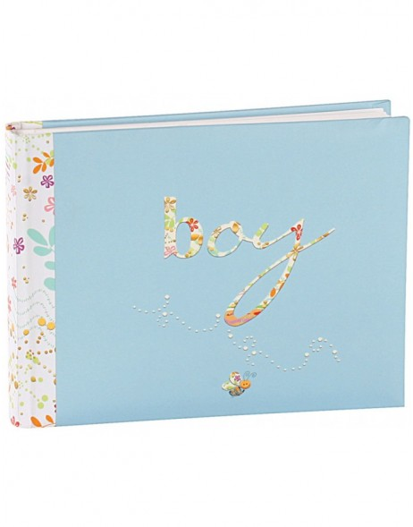 baby photo album BOYS 22x16 cm