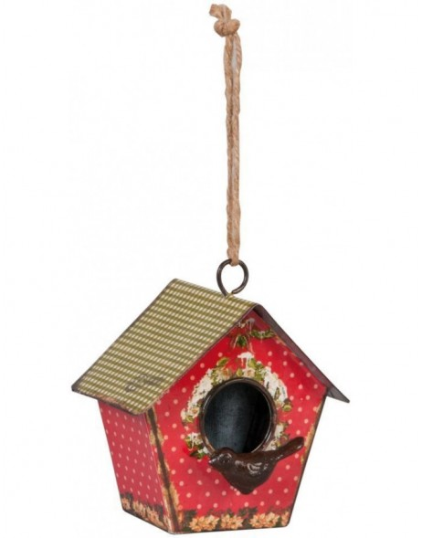 Bird house 62361 Clayre Eef in the size 11x8x12 cm