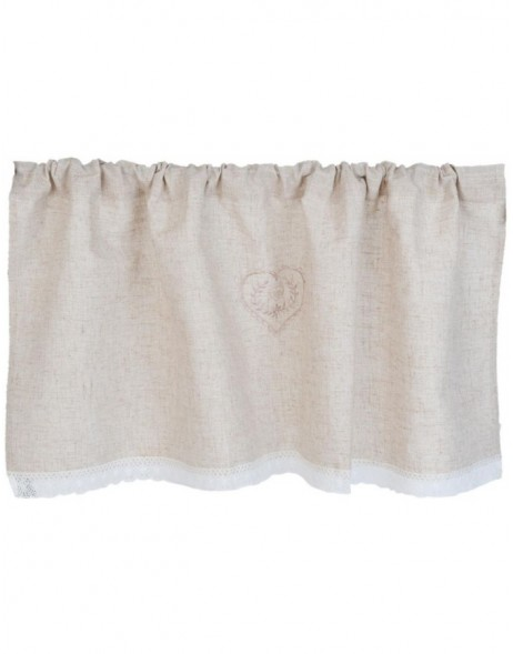 curtain natural - KT058.031 Clayre Eef