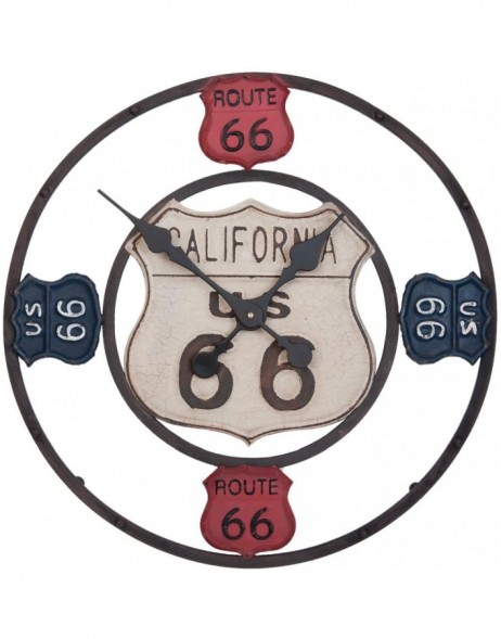 clock Route 66 - 6KL0323 Clayre Eef