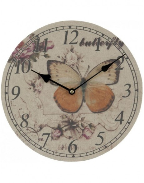 clock Butterfly - 6KL0272 Clayre Eef