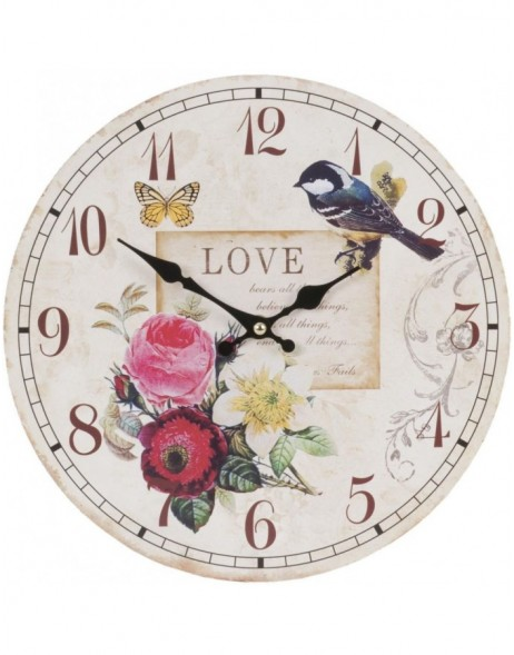 clock birds - 6KL0285 Clayre Eef