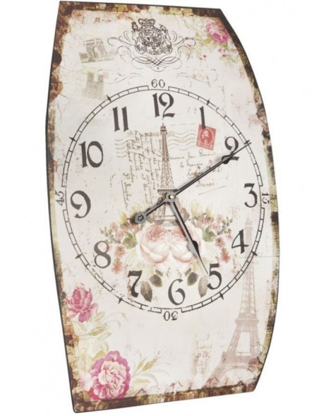 wall clock coloured - 5KL0030 Clayre Eef