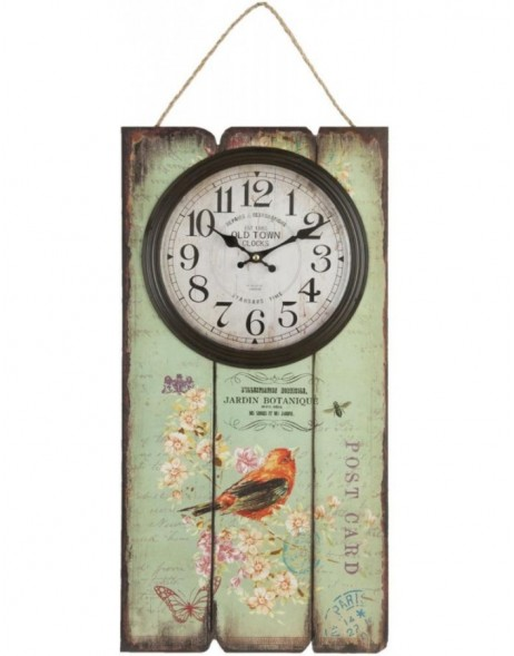 wall clock coloured - 6KL0288 Clayre Eef