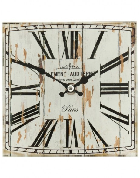 wall clock natural/shabby - 6KL0267 Clayre Eef