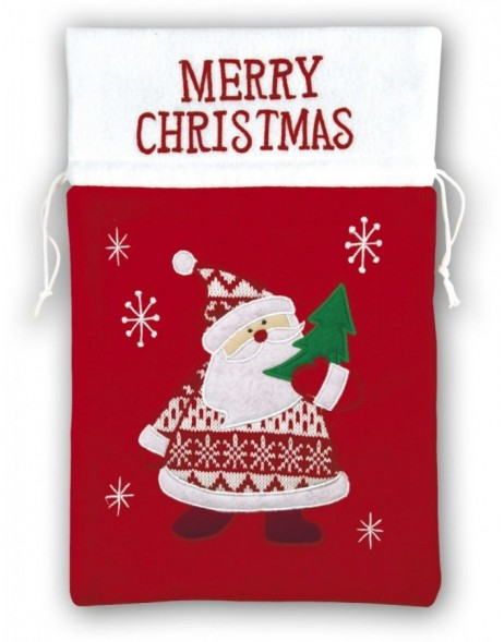 Christmas bag 16B2 red 25 x 39 cm