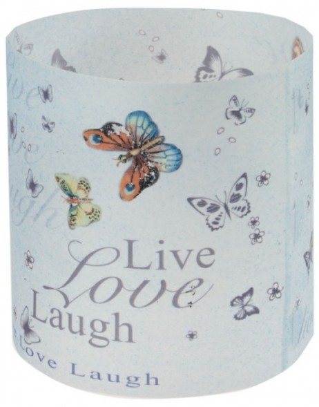 Windlicht Live Love Laugh 3 St�ck Packung
